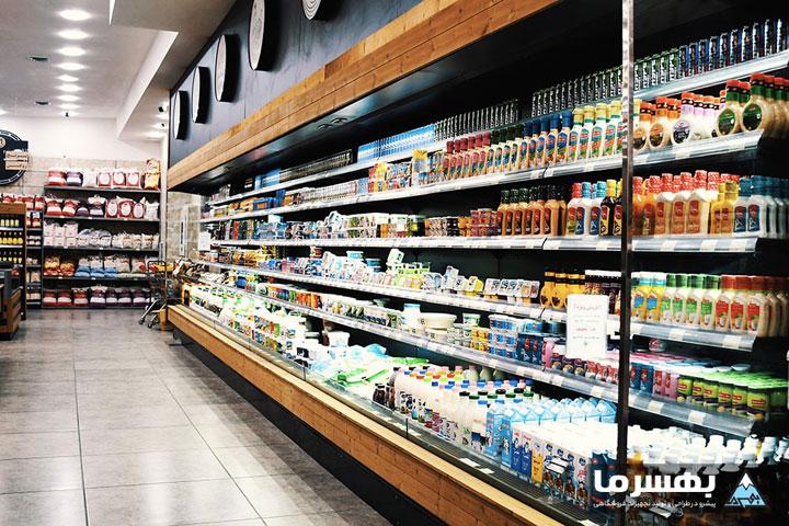 یخچال صنعتی و لیست انواع یخچال فروشگاهی