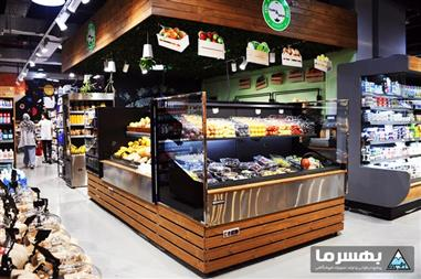آشنایی با یخچال میوه و سبزیجات فروشگاهی