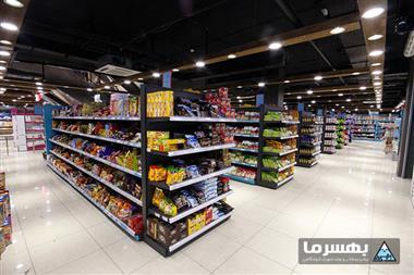 آشنایی با قفسه بندی سوپرمارکت و هایپرمارکت